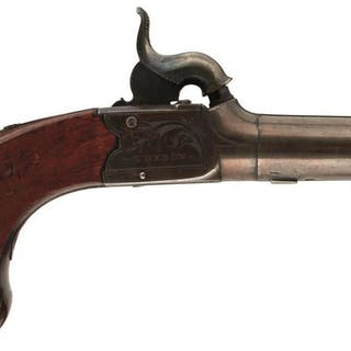 A PAIR OF 54-BORE PERCUSSION BOXLOCK POCKET PISTOLS BY REILLY OF LONDON