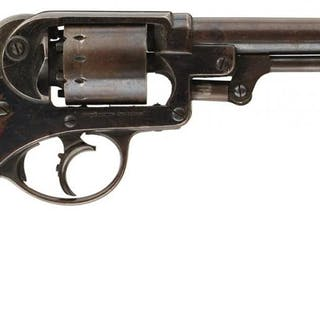 A .44 CALIBRE SIX-SHOT PERCUSSION STARR 1858 ARMY REVOLVER, 6inch