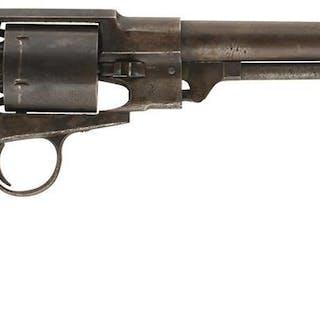 A SCARCE .44 CALIBRE SIX-SHOT PERCUSSION FREEMAN ARMY REVOLVER, 7.5inch