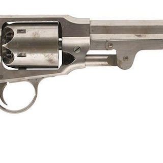 A SCARCE .44 CALIBRE SIX-SHOT PERCUSSION ROGERS & SPENCER ARMY REVOLVER