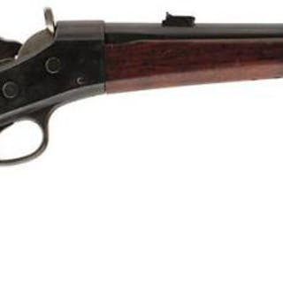 A .43 OBSOLETE CALIBRE REMINGTON ROLLING BLOCK CARBINE, 20.5inch barrel