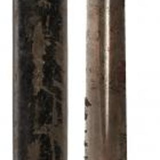 AN UNUSUAL BRUNSWICK RIFLE BAYONET, 57.5cm fullered blade, regulation