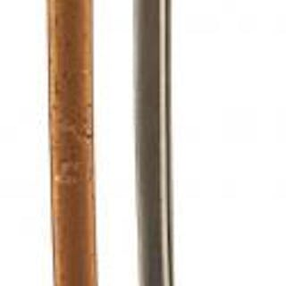 AN IMPERIAL GERMAN ARTILLERY OFFICER'S SWORD, 80.5cm pipe backed blade