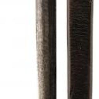 A 1798 PATTERN BASKET HILTED BROAD SWORD, 72.5cm blade struck with