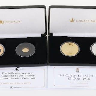 Football World Championship gold 2010 coin (.585 & 0.5g)