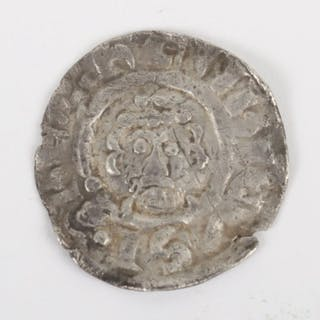 Richard I (1189-1199) Short Cross penny type 3 with quatrefoil in angles