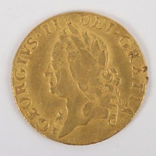 George II (1727-1760) 1748 Guinea