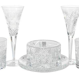 Waterford Millennium Cut Glass Partial Service