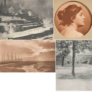 Four Photogravures from Camera Notes