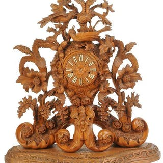 Monumental Black Forest Clock