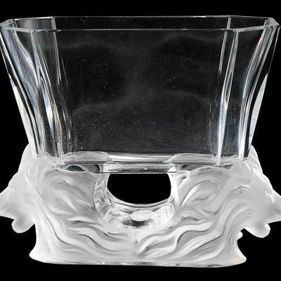 Lalique Venise Glass Bowl
