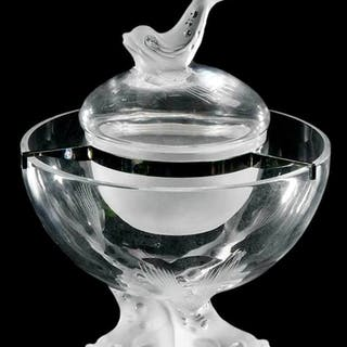Lalique Igor Caviar Glass Bowl
