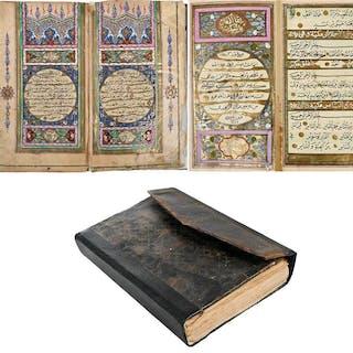 18th Century Black Naskh Script Quran