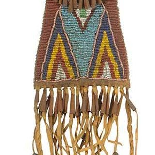 Beaded Strike-a-Light Bag