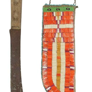 Sioux Quilled Sheath with Knife