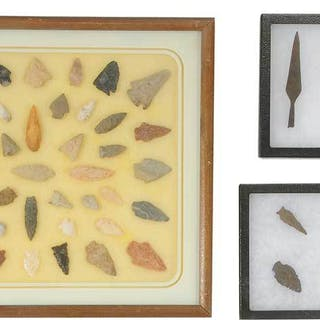 Collection of Projectile and Iron Spear Points