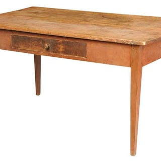 American Federal Poplar Farm Table