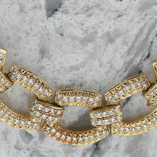 18kt. Diamond Necklace