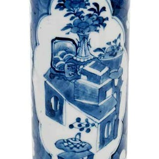 Chinese Porcelain Vase with Kangxi Mark