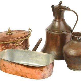 Four Copper Objects