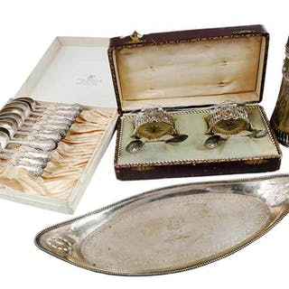 18 Silver Table Items
