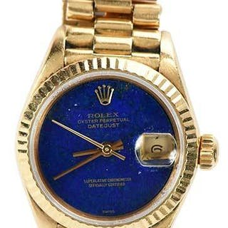 Rolex 18kt. Datejust Watch
