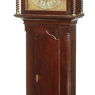 Scottish George III Mahogany Tall Case Clock