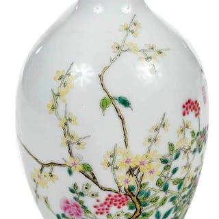Chinese Glazed Porcelain Vase