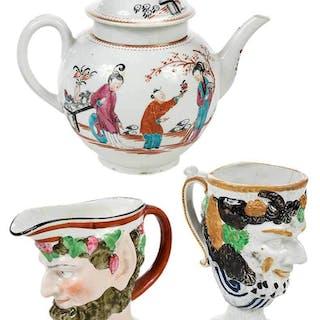 Three Pieces British Porcelain