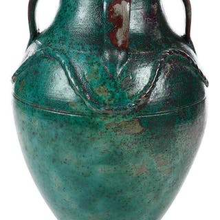 Rare Jugtown Persian Earthenware Jar