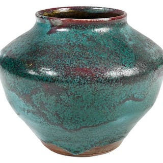 Jugtown Chinese Blue Vase