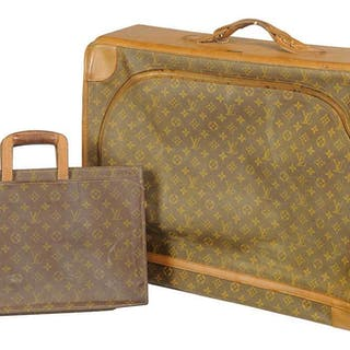 Two Vintage Louis Vuitton Cases by French Co.