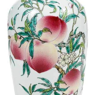 Chinese Porcelain Decorated Vase