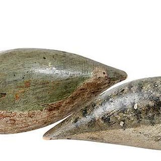 Two New Jersey Shorebird Decoys