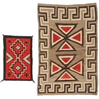 Two Trading Post Textiles