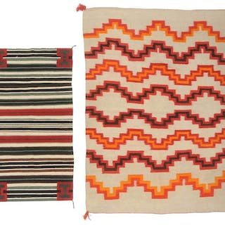 Late 19th Century Navajo Blanket