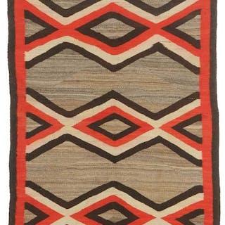 Early Crystal Trading Post Navajo Weaving