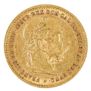 1905 Austrian Ten Corona Gold Coin