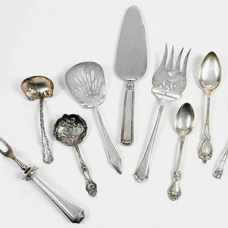 50 Pieces Sterling Flatware