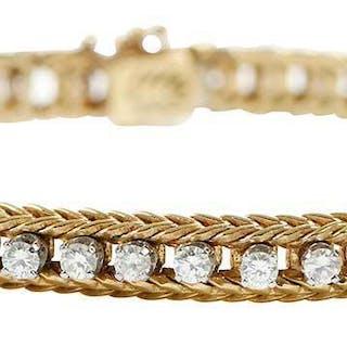 18kt. Diamond Bracelet