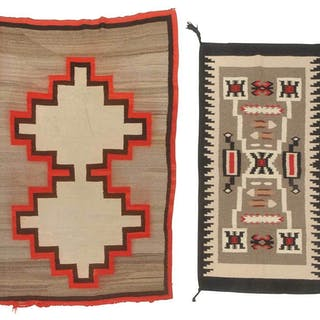 Two Southwestern Weavings