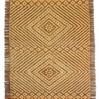 Woven Cherokee Rivercane Mat
