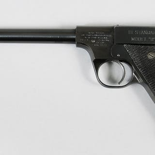 "Hi Standard Model ""B"" Pistol"