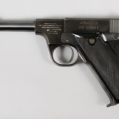 "Hi Standard Model ""C"" Pistol"