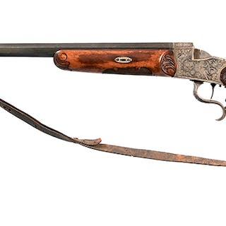 German Schuetzen Target Rifle