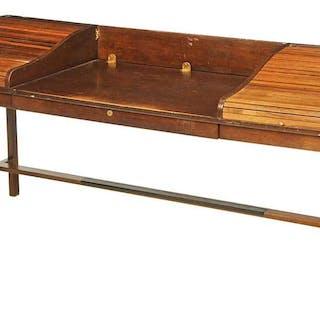 Wormley for Dunbar Walnut Tambour Desk