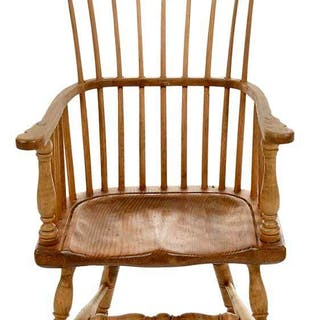 Miniature Windsor Chair by Fred T. Laughon