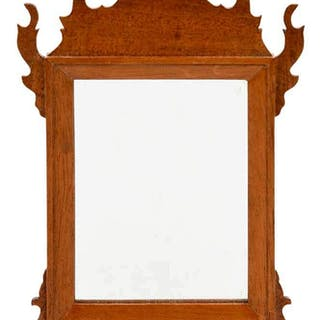 Miniature Chippendale Mirror by Fred T. Laughon