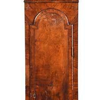 Queen Anne Walnut Tall Case Clock