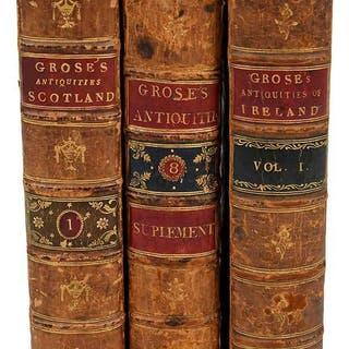 Twelve Volumes on Antiquities of England